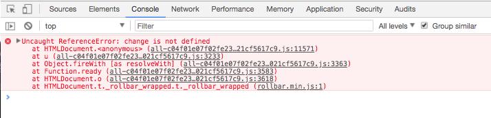 Error Information In Inspect